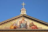 базилика святого павла вне стен — Стоковое фото