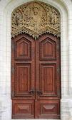 Renaissance front door — Stok fotoğraf