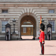Guard change in Buckingham Palace - Stock Photo