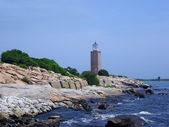 Avery Point Lighthouse — Stock Photo
