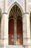 Gothic gate — Stock Photo
