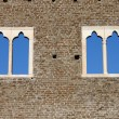 Stock Photo: Medieval windows