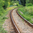 Stock Photo: Railway line