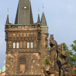 Tower on Charles Bridge, Prague — Stock Photo