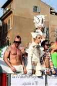 Rome Euro Pride Parade 2011 — Stock Photo