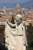 Anioł we Florencji — Zdjęcie stockowe
