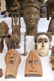 African masks — Foto Stock