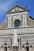 Santa Maria Novella church in Florence — Stock Photo