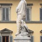 Постер, плакат: Dante Alighieri statue