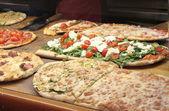 Pizza çeşitleri — Stok fotoğraf
