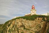 Leuchtturm am cape roca — Stockfoto