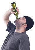 Drunk man — Stock Photo