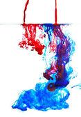 Color liquid in water — Stock Photo