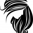 Hair icon — Stock Vector #8424768