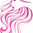 Royalty-Free Stock Vector Image: Hair icon