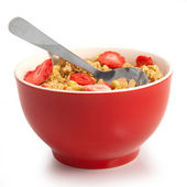 Isolated muesli — Stock Photo