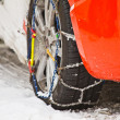 Snow Chains — Stock Photo #8323414
