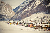 Winter & Alps (Livigno & Foscagno) — Stock Photo