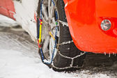 Snow Chains — Stockfoto