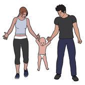 Family — Stock fotografie