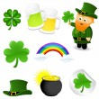 St_Patrick — Stock Vector