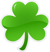 Shamrock_icon — Vettoriale Stock