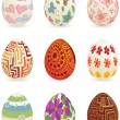 Easter_eggs — Stok Vektör #8904980