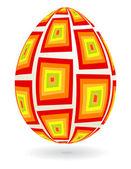 Retro_egg — Stock Vector