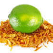 Stock Photo: Orange zest