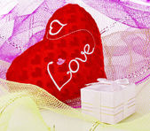 Valentine day Gifts — Stock Photo