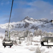 Ski lift in Italy - 