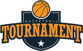 Basketball Tournament — Stock Vector