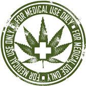 Medical Marijuana — Stock Vector