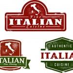 Vintage Italian Food Stamps — Stock Vector #9259007