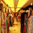 Asian textile market in Hong Kong — Stock Photo