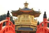 Pavilion of Absolute Perfection in the Nan Lian Garden — Stock Photo