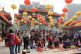 Wong Tai Sin Temple in Hong Kong — Stock Photo