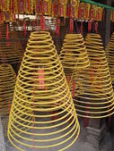 Circular incenses, decorations of traditional Chinese Buddhism — Stock Photo