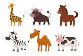 Animal set — Stock Vector