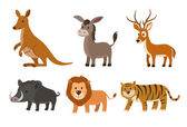 Animal set — Stock Vector