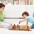 Royalty-Free Stock Photo: Kids playing chess