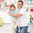 Father with toddler son — Stock Photo