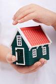 защита вашего дома — Стоковое фото
