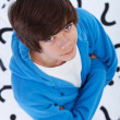 Teenager full of questions — Stock Photo