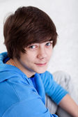 Teenager boy portrait — Stock Photo