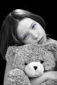 Young girl with amazing eyes — Stock Photo