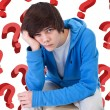 So much questions - Stock Photo