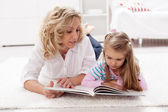 Story telling time — Stock Photo