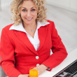 Woman in the office — Stock Photo #9346430