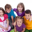 Group of kids - friends forever — Stock Photo